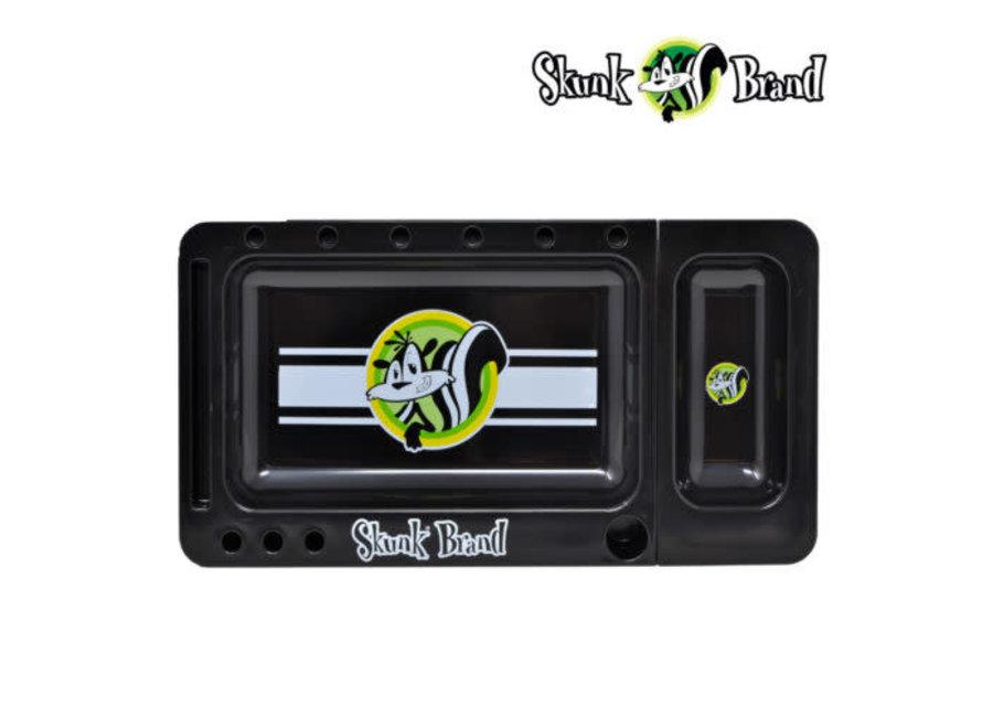 Skunk translucent black rolling tray
