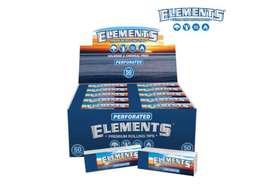 Elements Perforated Tips 50 packs