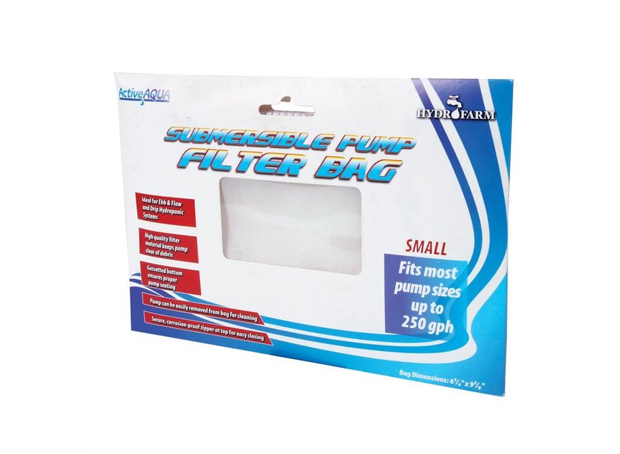 """Active Aqua 6"""" Pump Bag 6.75"""" x 9.375"""" pump filter bag"""