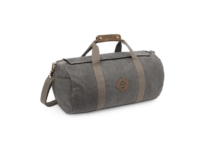 Revelry The overnighter small duffle bag.  marine/ash/sage
