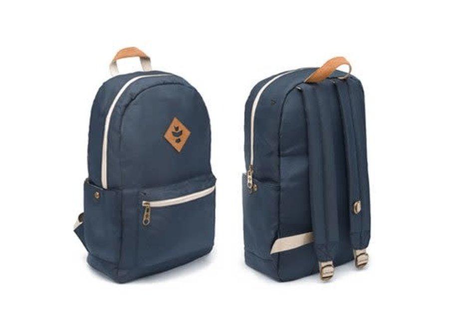 Revelry The escort backpack. blue/smoke