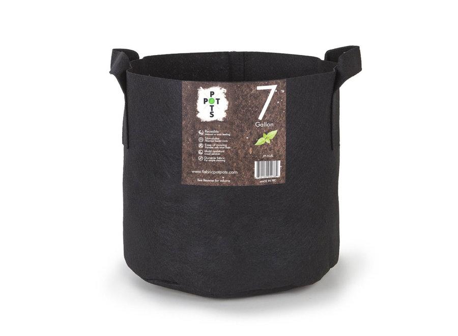 Pot Pots 7 gallon fabric pots with handles