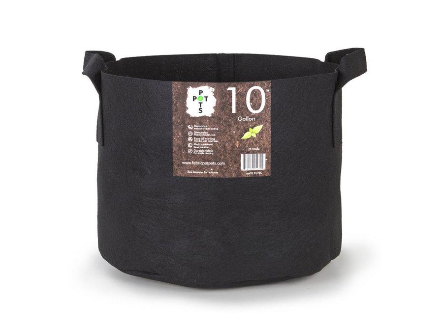 Pot Pots 10 gallon fabric pot with handles