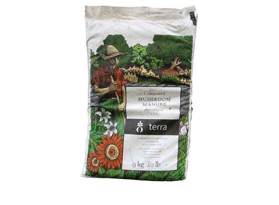 Terra mushroom plus compost 20 lbs
