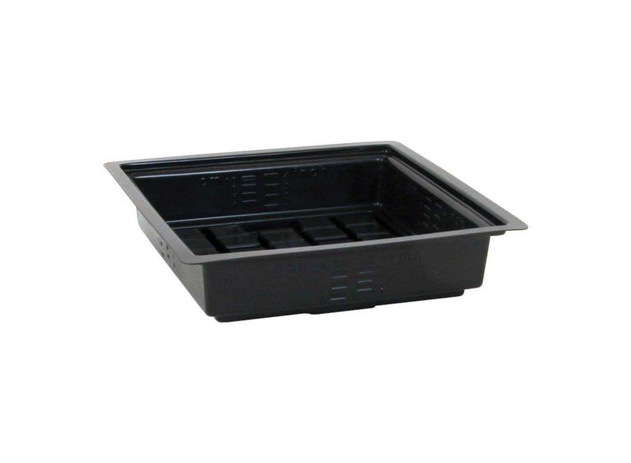 Black flood tray 2x2