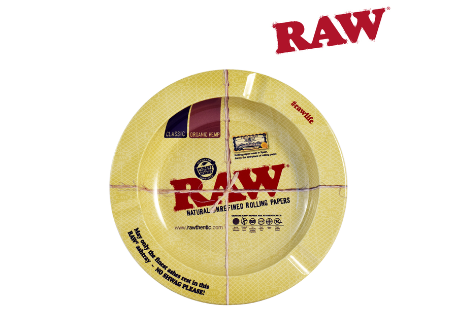 raw ashtray metal