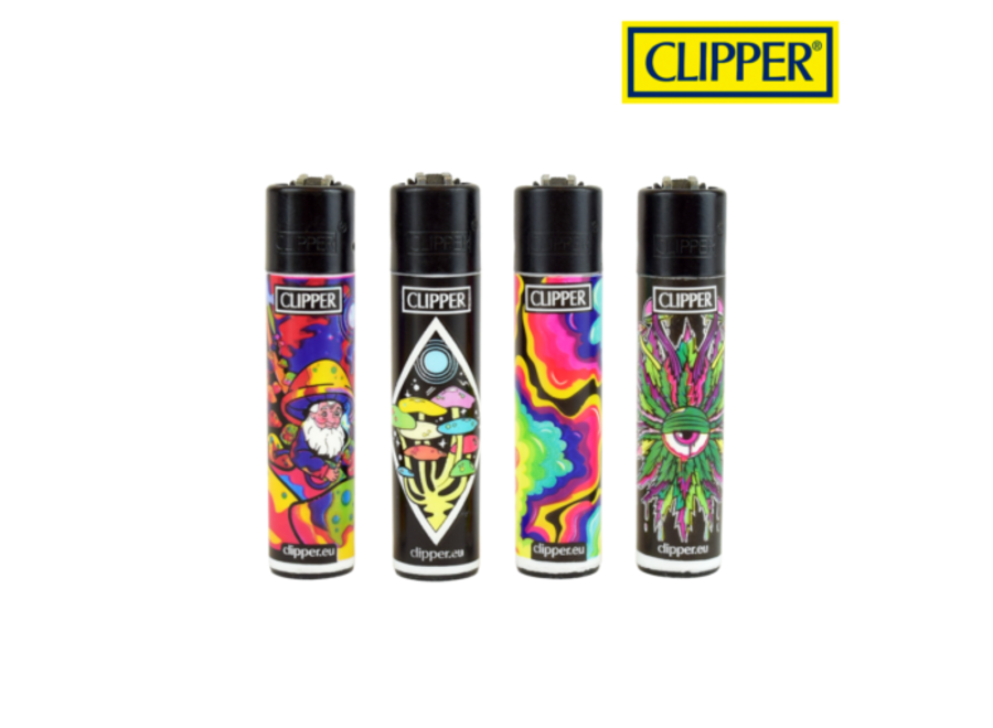 Clipper Refillable Psychedelic 7 single