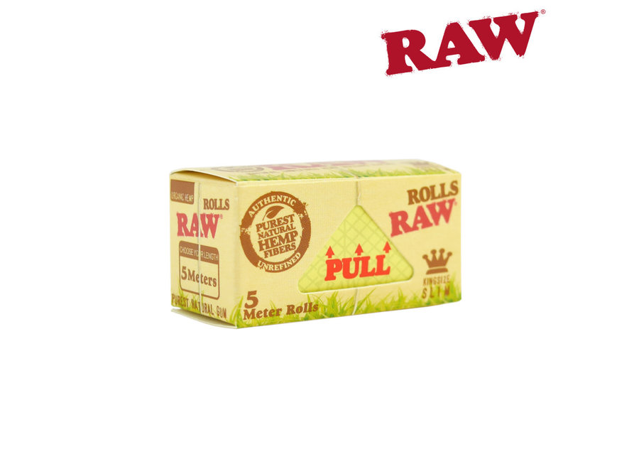 Raw papers on roll 15ft