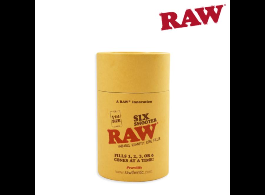 RAW six shooter 1 1/4