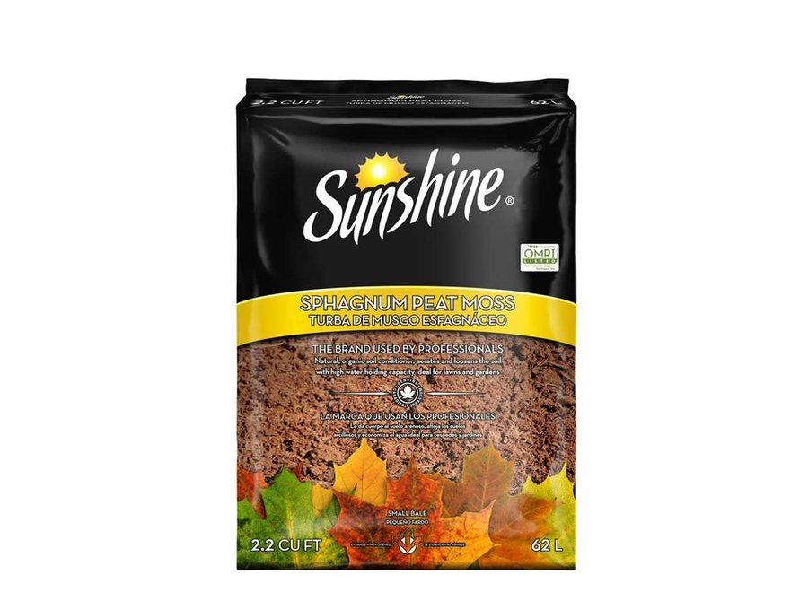 Sunshine Peat Moss 2.2 CF