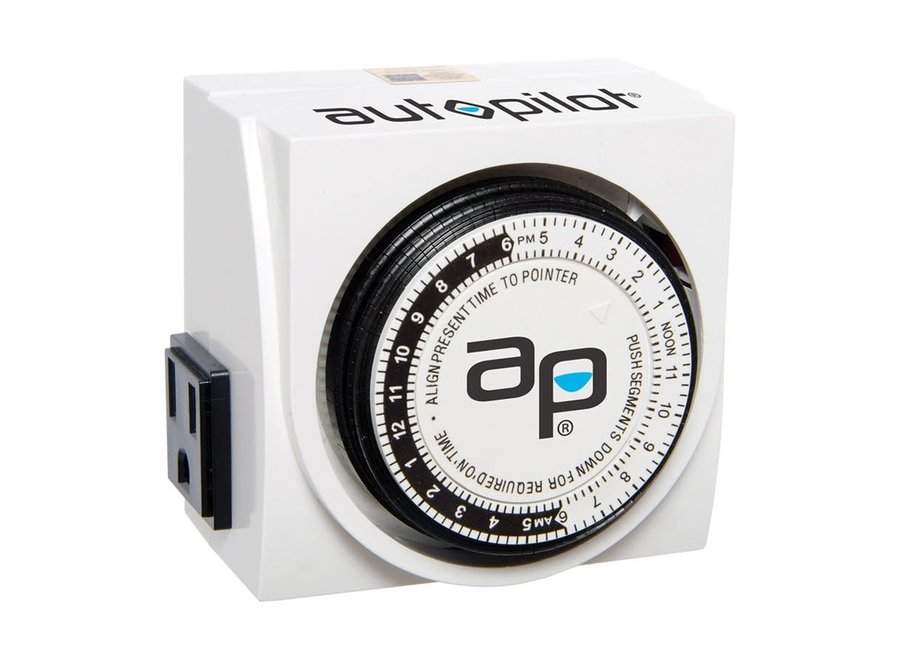 Dual Outlet Analog Timer 15 AMP 1725w