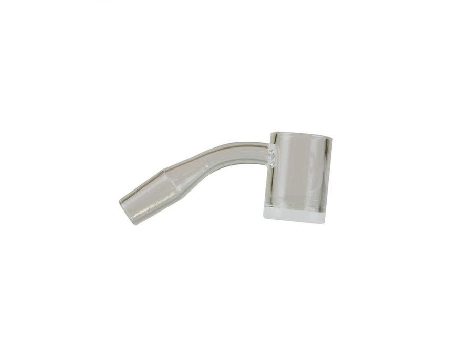 Gear Premium 10mm Male 45° Quartz Banger w/ Flat Top & Opaque Bottom