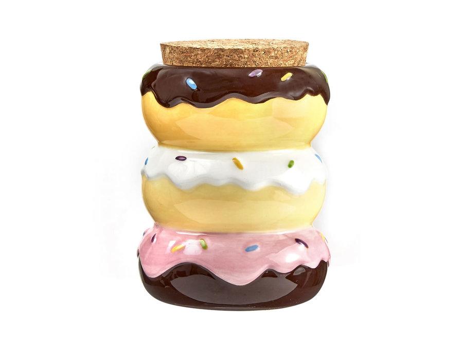 Donut Stash Jar