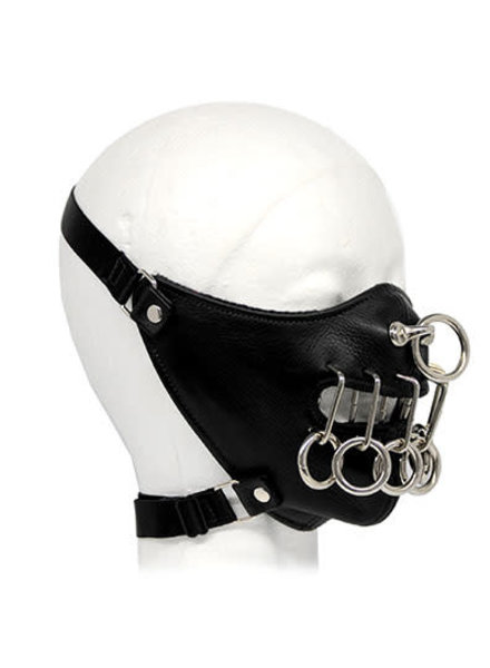 LEATHER RINGS LOCO MASK