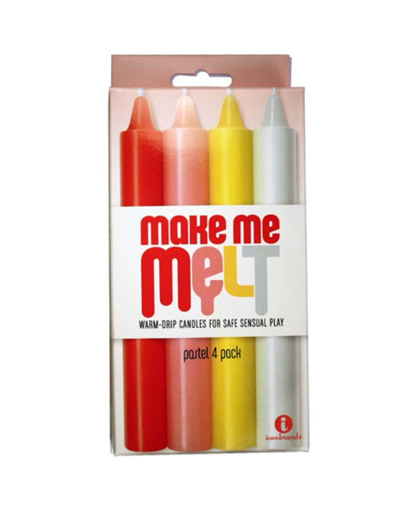 The 9's, Make Me Melt Sensual Warm-Drip Candles