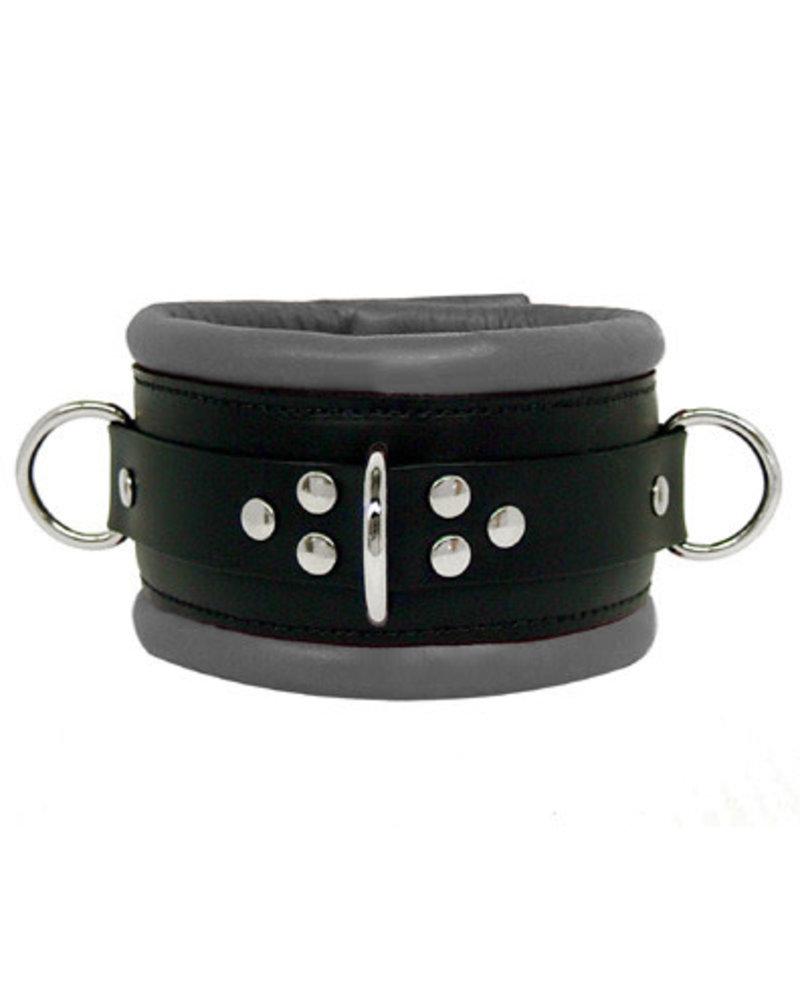 Kookie Leather Padded Collar