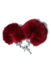 TOF INC Handcuffs - Rabbit Fur