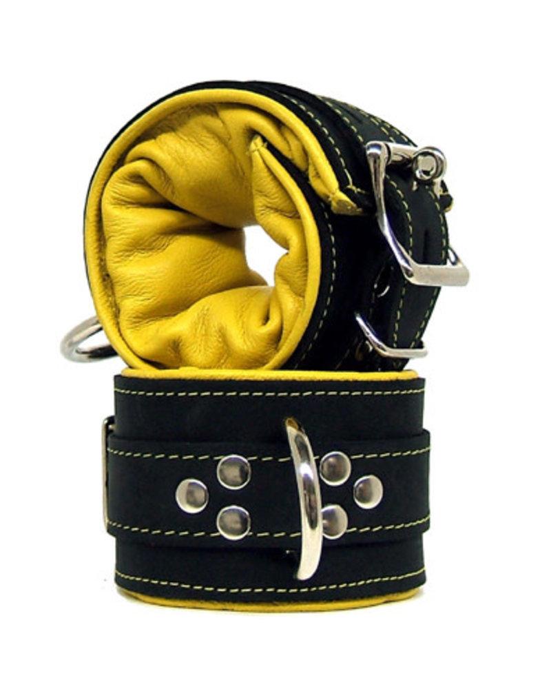Kookie Super Leather Padded Wrist Cuffs