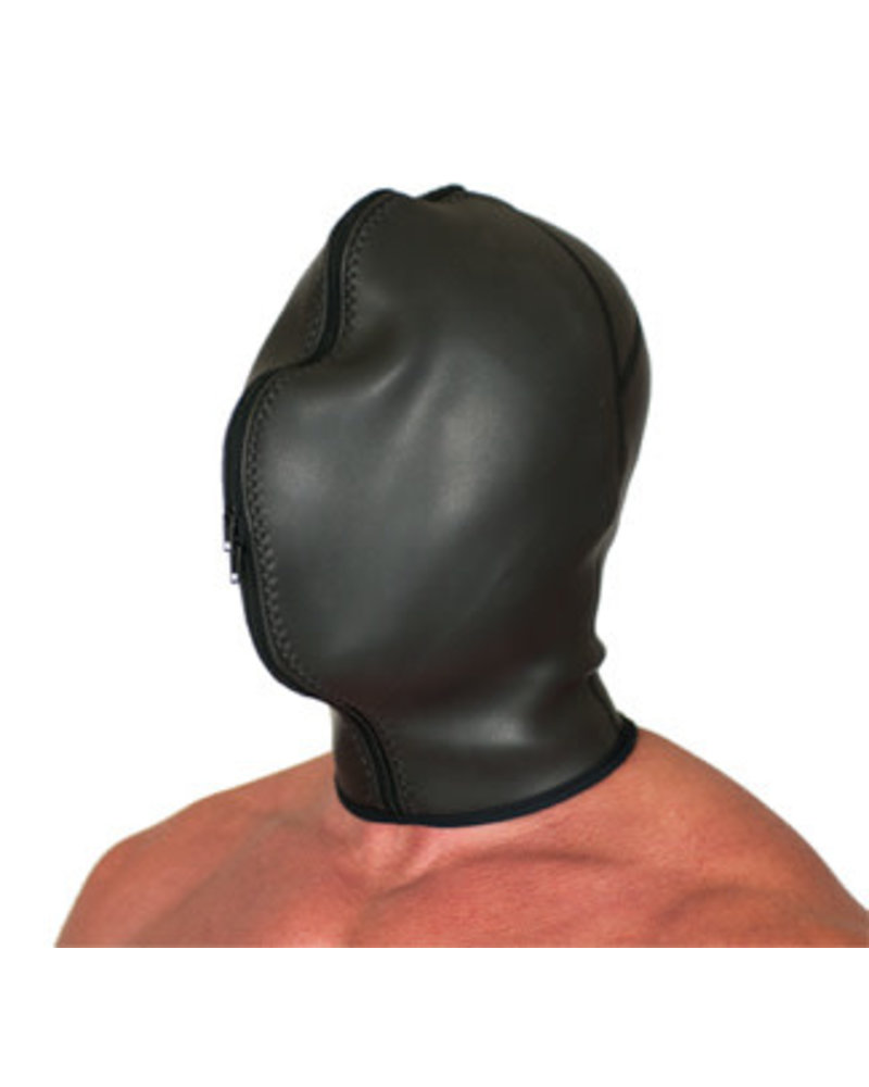 665 Leather Neoprene Confinement Hood
