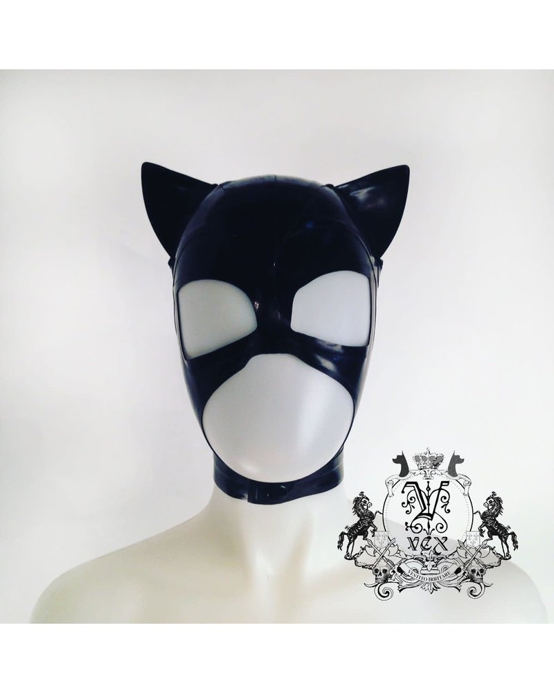 VexClothing Latex Cat Hood