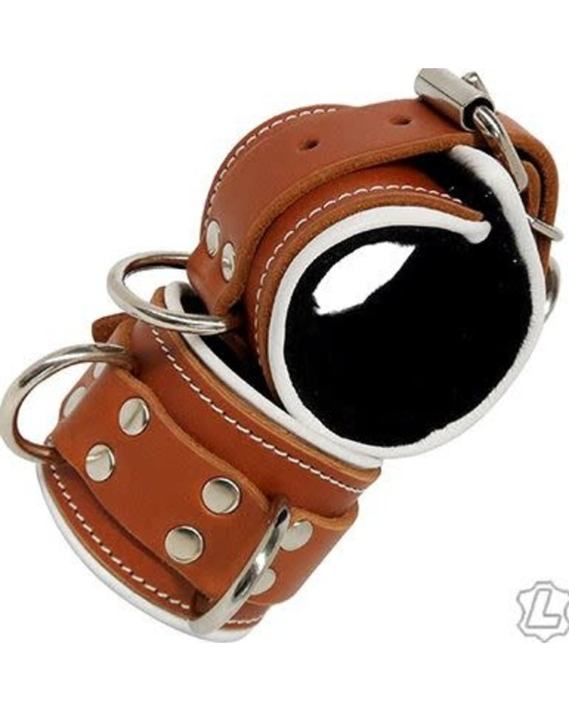 Leather Ankle Cuffs - Medical