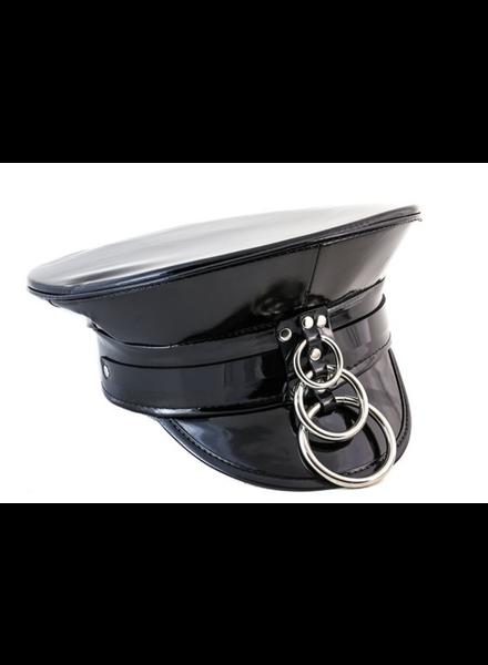 Three flap ring hat