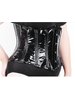 Bondesque Short PVC under bust corset