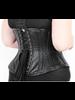 Bondesque Short leather under bust corset