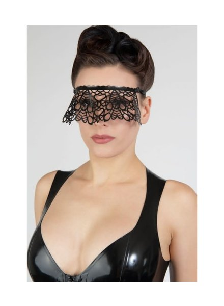 Peter Domenie Latex-tipped eye mask