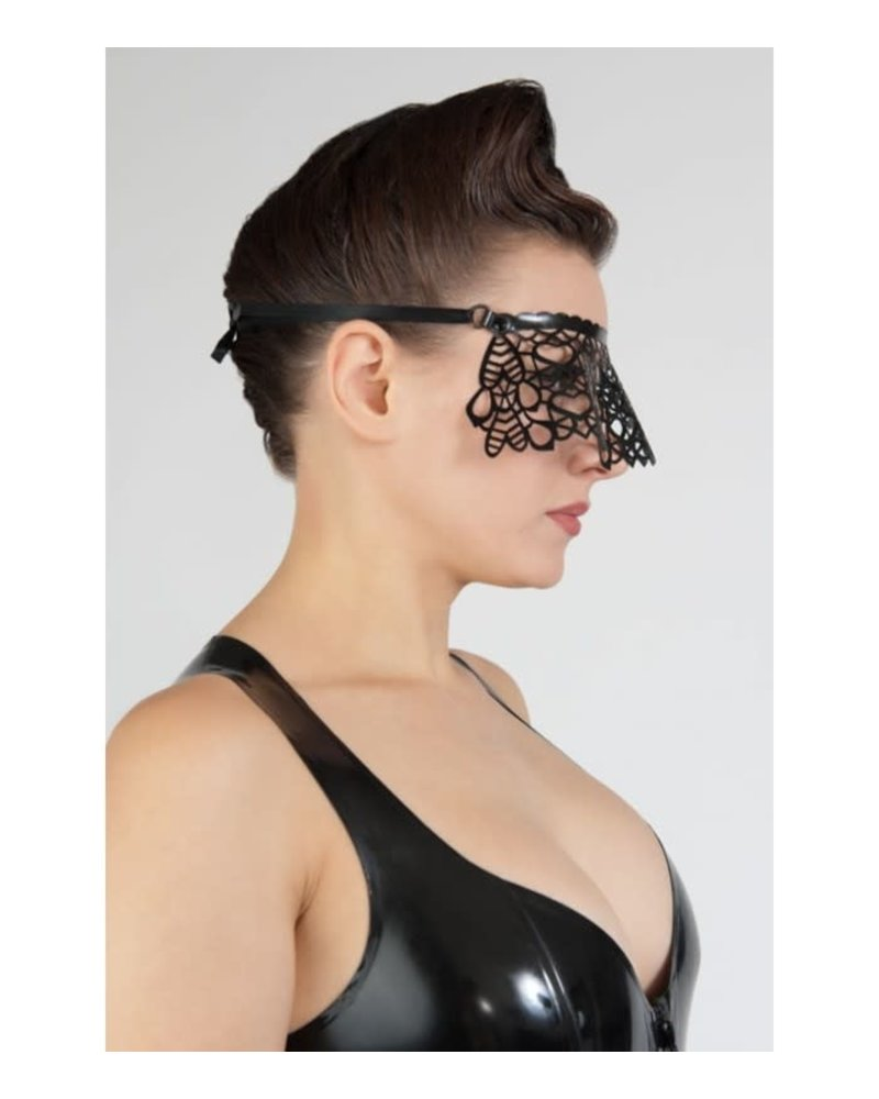 Peter Domenie Latex-tipped eye mask