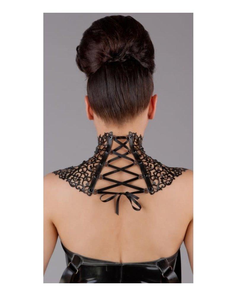 Peter Domenie Latex corset neck corset