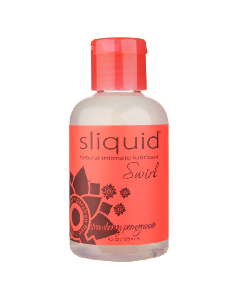 Sliquid Naturals Swirl Flavored Water-based Lubricant