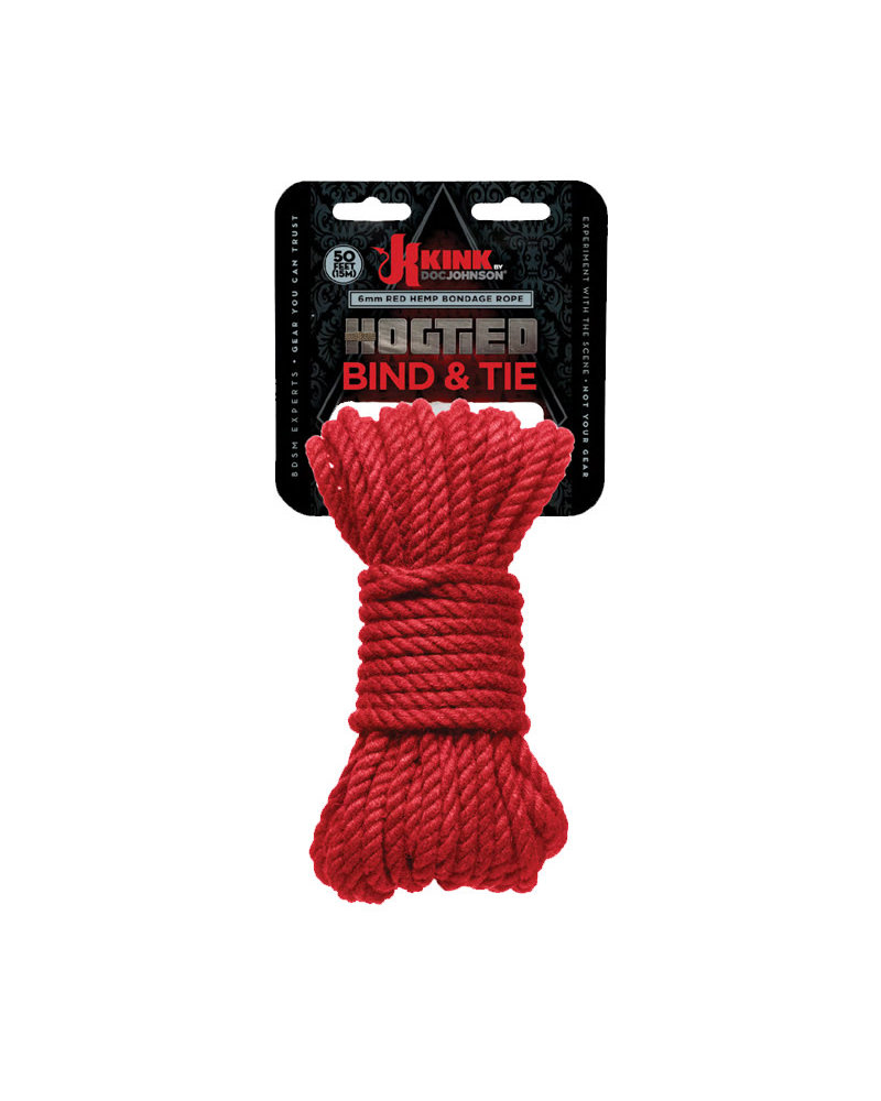 docjohnson Kink Bind & Tie Hemp Bondage Rope