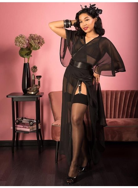 1930s Sheer Lounging Robe