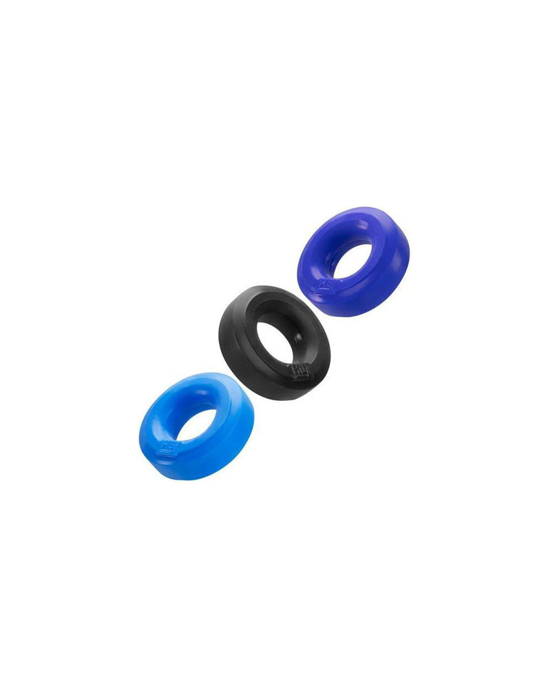 OxBalls Hunkyjunk  Cock Ring 3 Pack