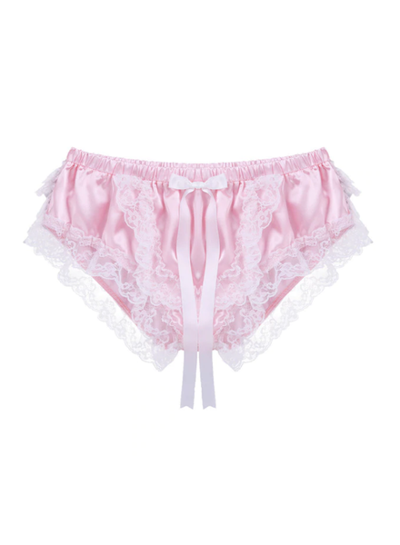 Satin ruffle Panties