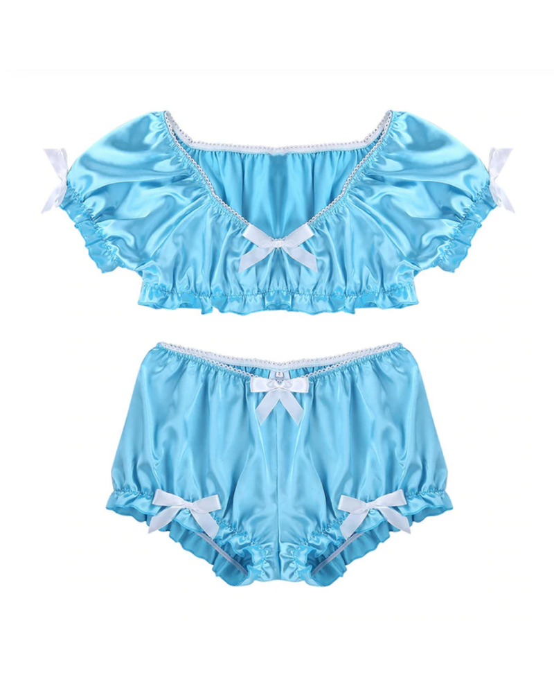 Two Piece satin set