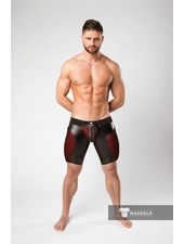 Maskulo Armored Shorts with Zipper