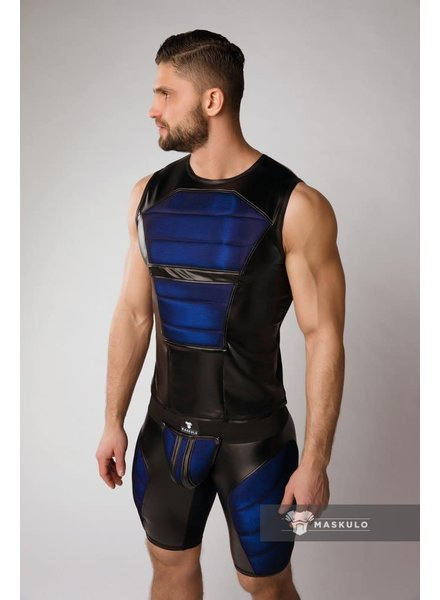 Maskulo Armored Tank Top with Front Pads