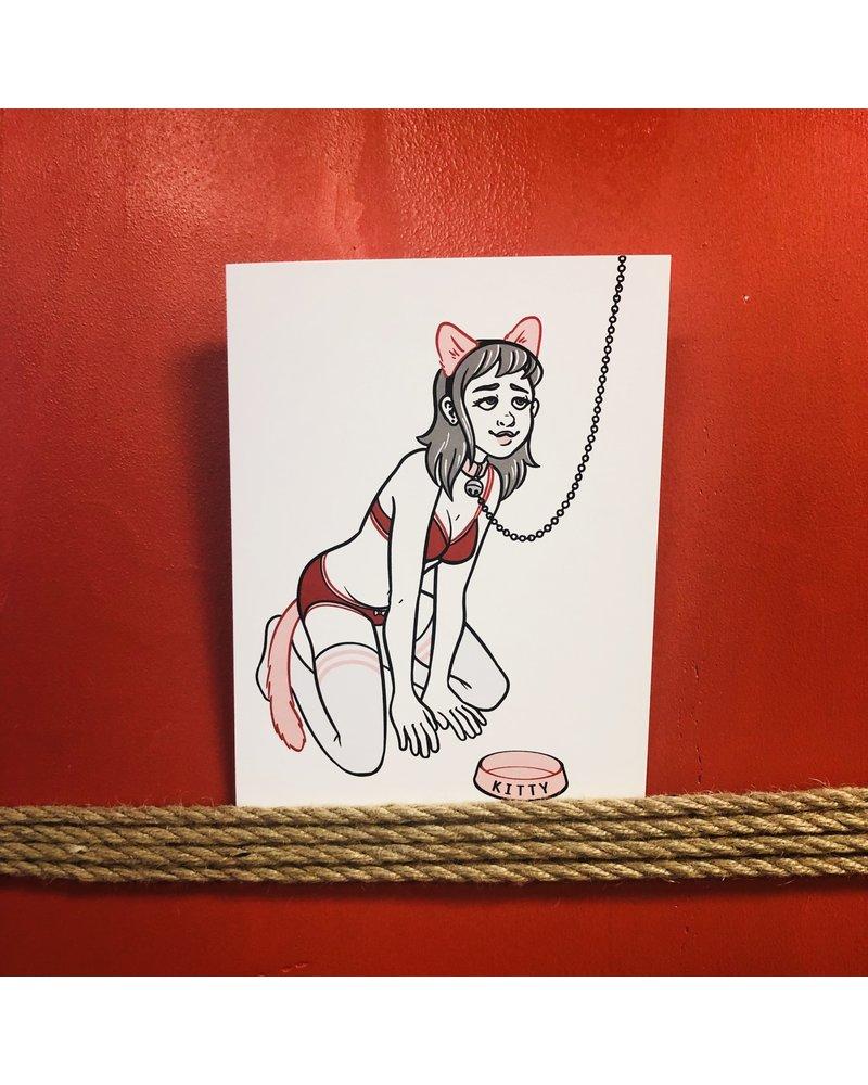 Kinky Greetings - Kitty