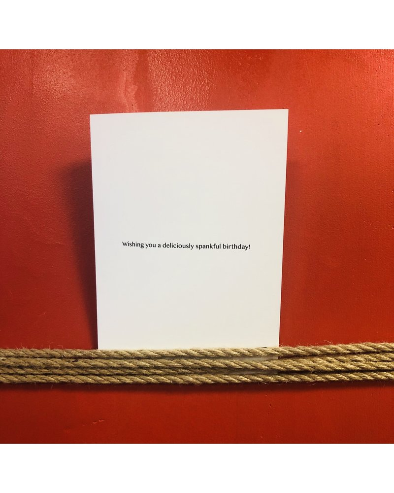 Bondesque Kinky Greeting Cards - SLUT
