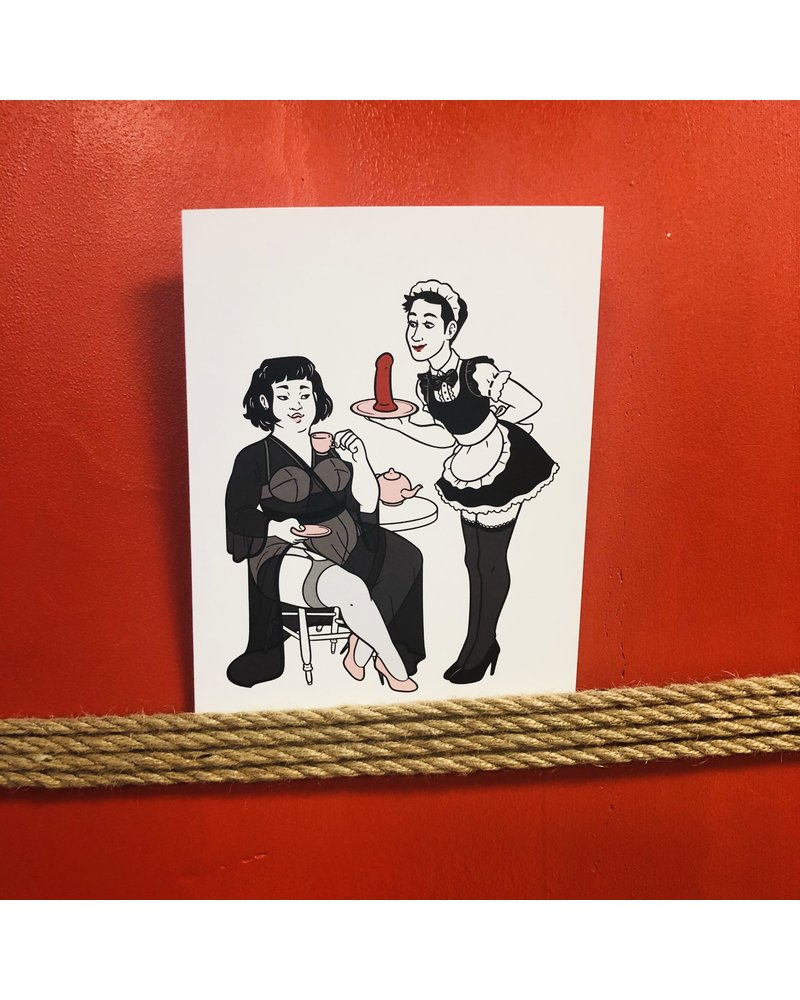 Bondesque Kinky Greetings - Tea Party
