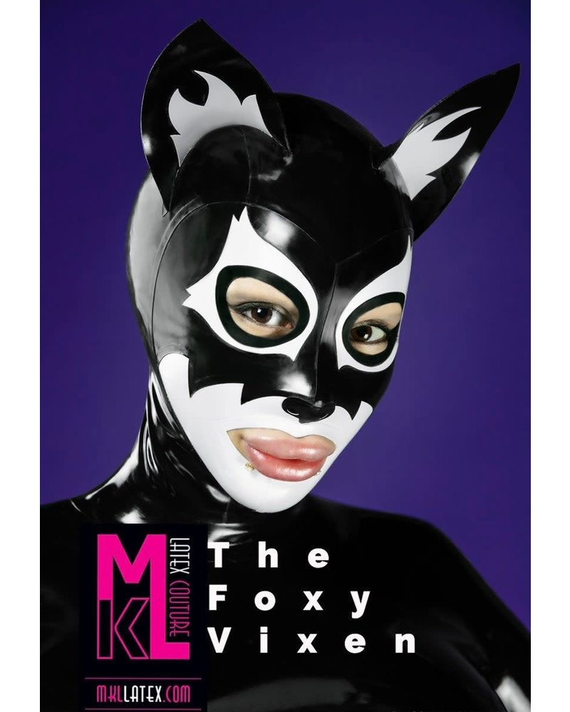 MKL Latex Couture Foxy Hood
