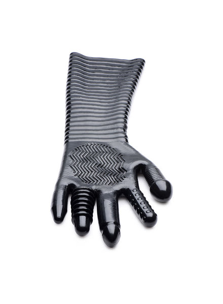 Extra Long Textured Fisting Glove