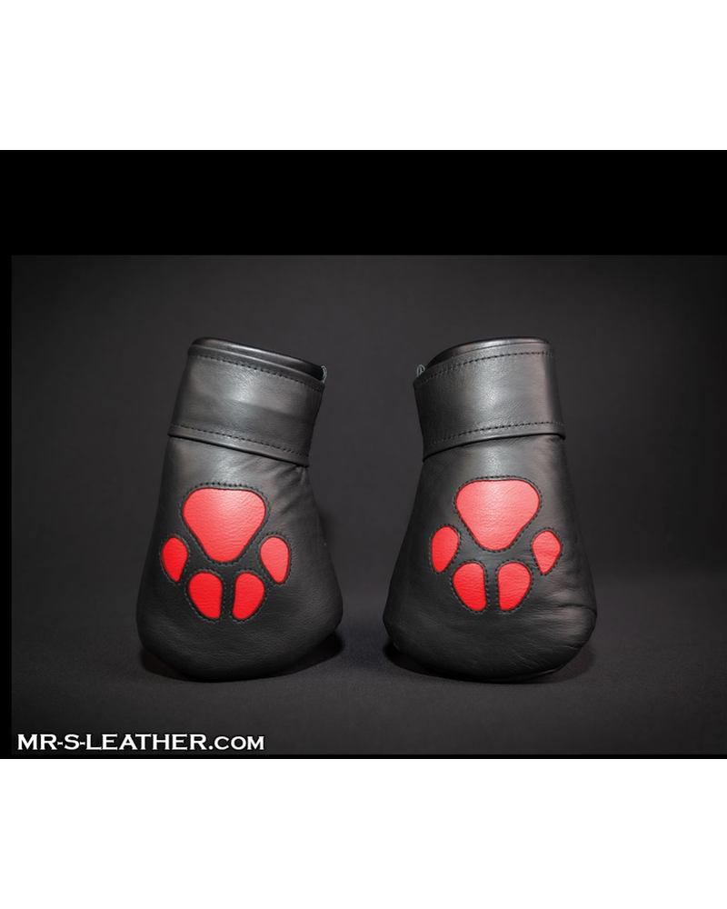 Mr. S Leather Leather Padded K9 Mitts