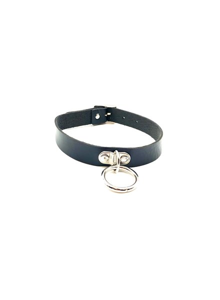 Spanked Vegan Choker with O ring