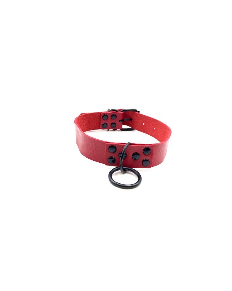 Spanked Vegan O ring collar
