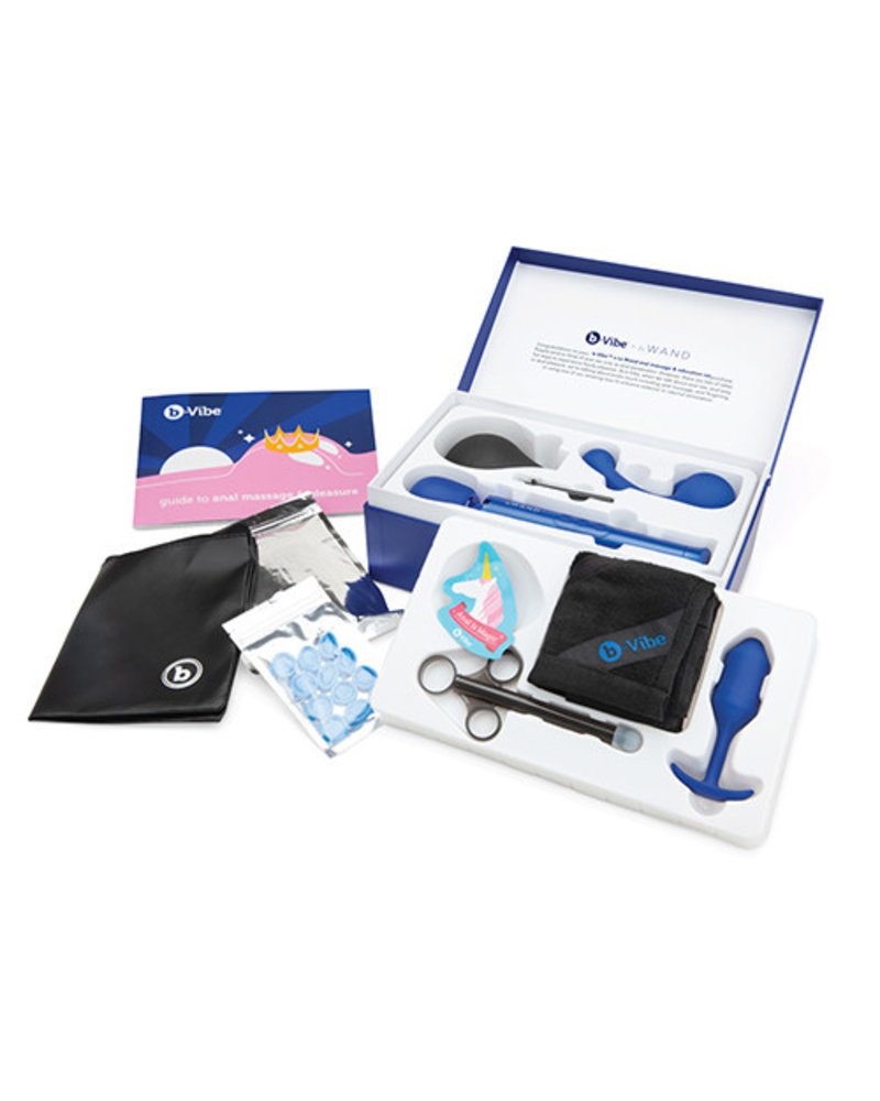 b-Vibe b-Vibe 10 pc Anal Massage & Education Set