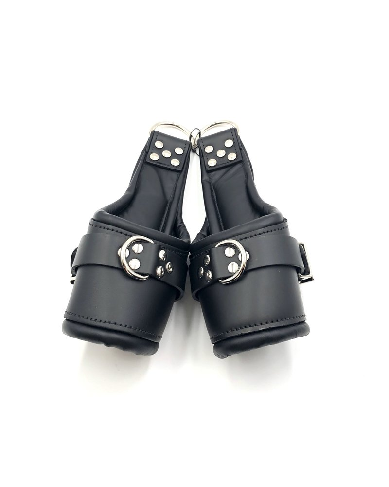 Deluxe padded suspension cuffs