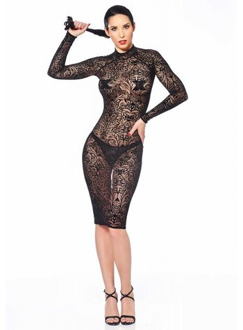 Patrice Catanzaro Azia Maori Mesh Dress